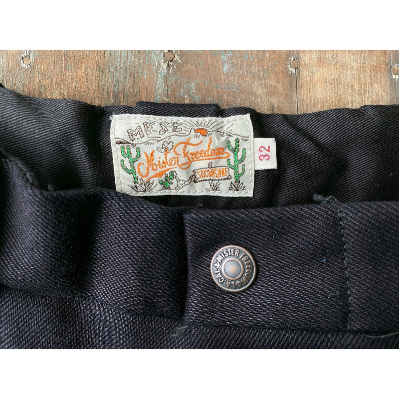 Deputy Birches. Original vintage-style MF® branded brass snaps waist button closure.