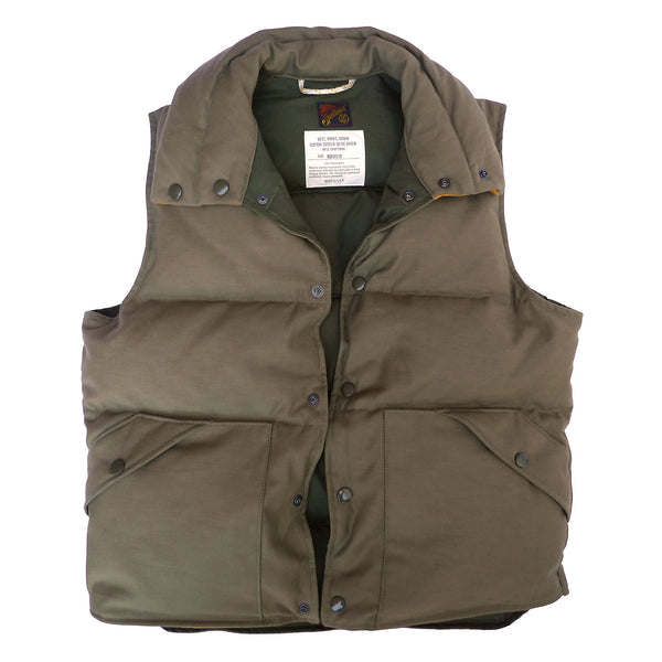 Sateen Down Vest OG