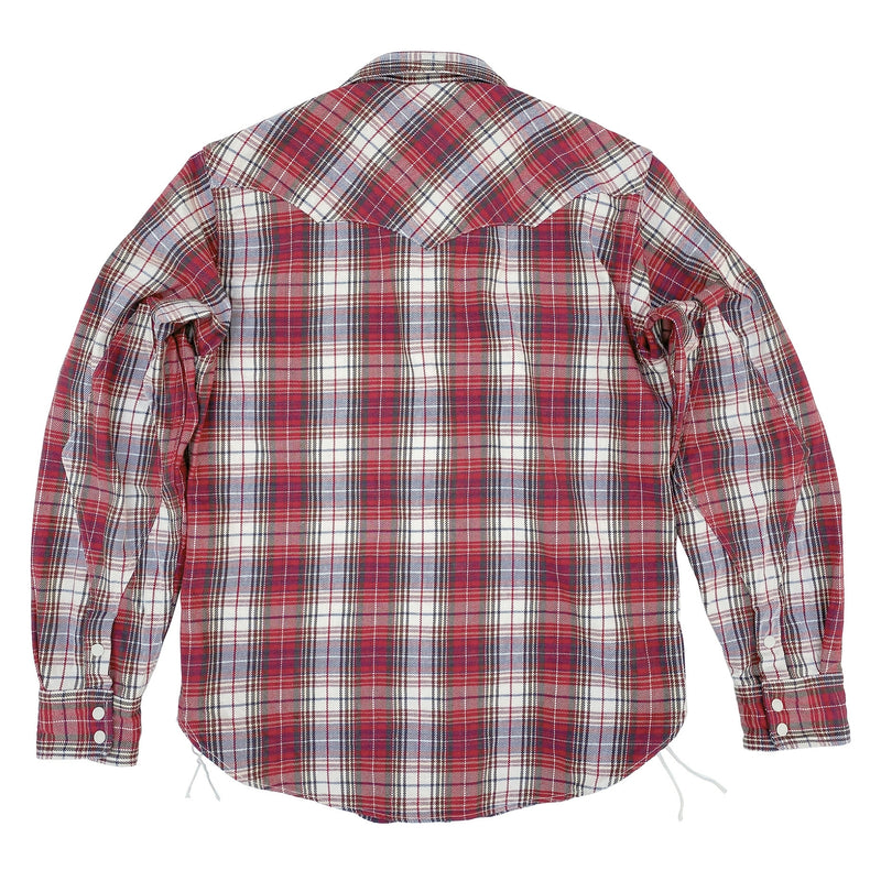 "Dude Rancher - Woven ""Joan"" Plaid"