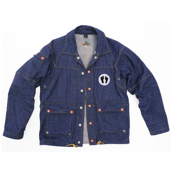 Gabier Jacket - Nep Denim