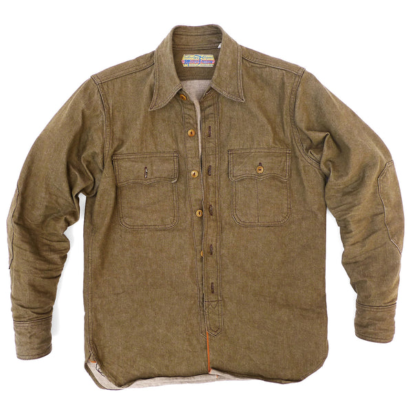Garrison Shirt - GB Olive Denim