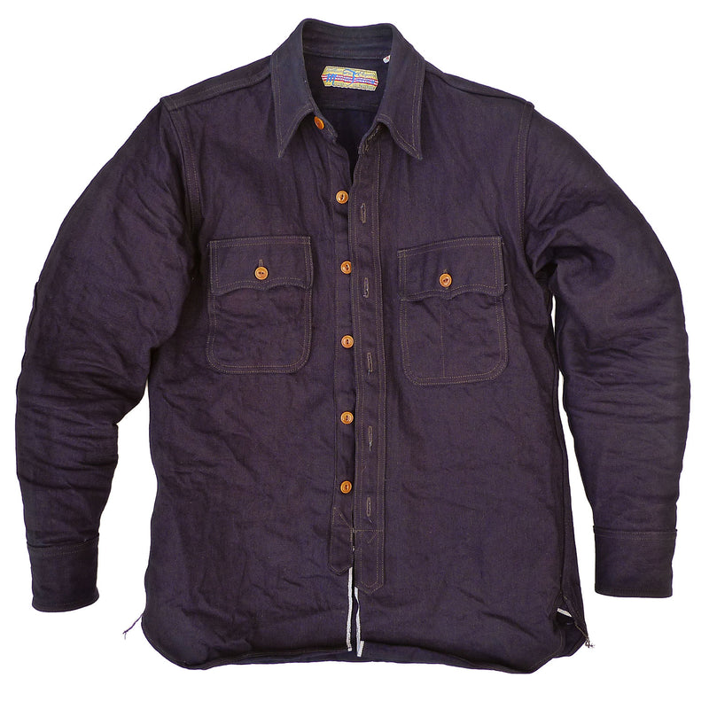 Garrison Shirt - Double Indigo Twill