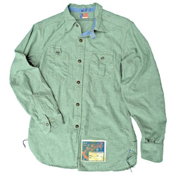 NOS Chambray Shirt Green
