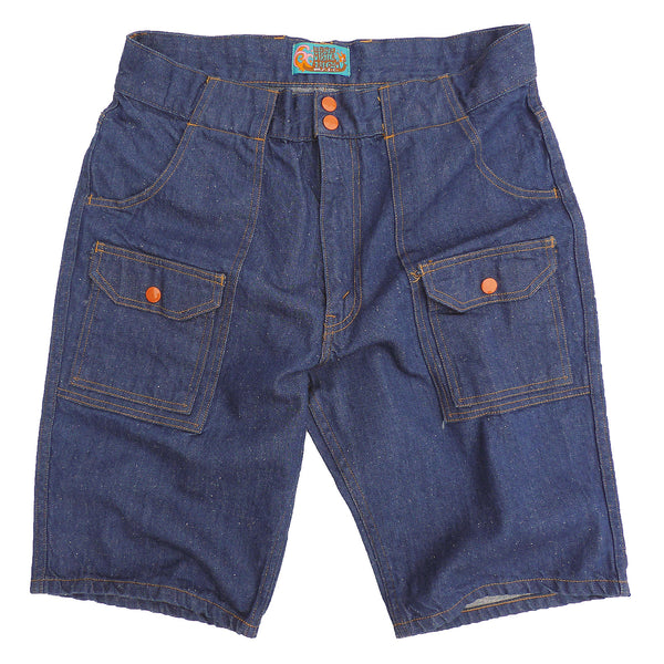 Manureva Deck Shorts - Nep Denim