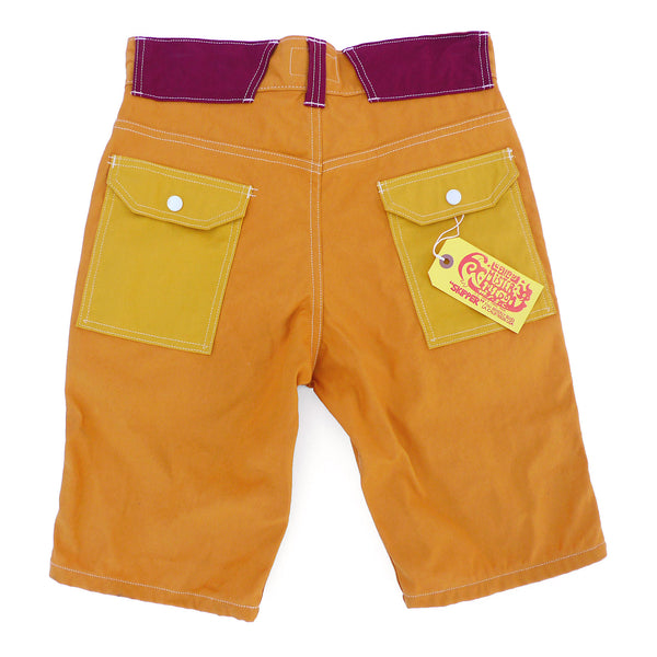 Manureva Deck Shorts - Orange Tutti Frutti
