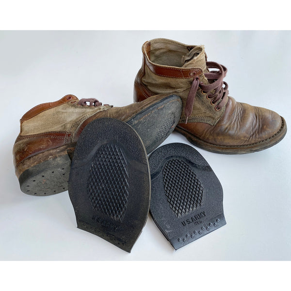 Gov't Issued NOS Rubber Half Soles
