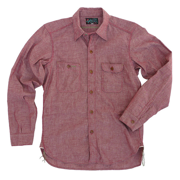Nixon Shirt - Red Chambray