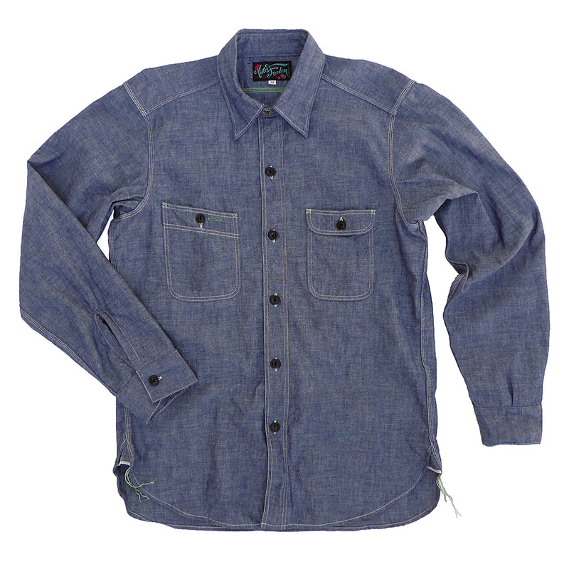 Nixon Shirt - Blue Chambray
