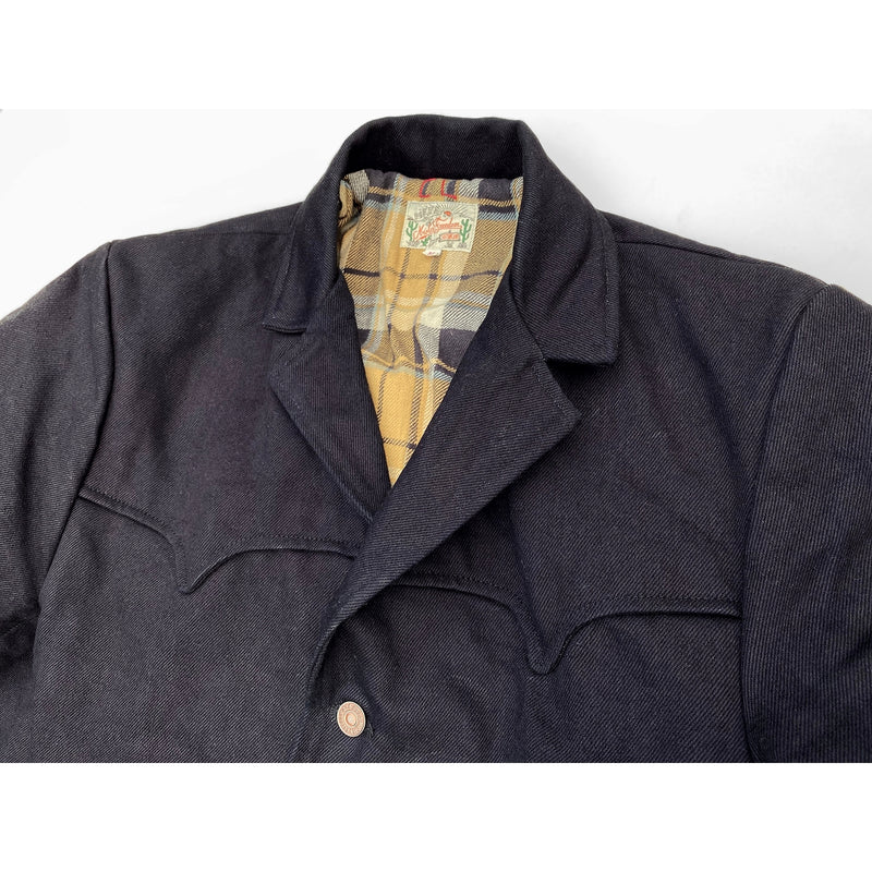 Pioneer Jacket Midnight High lapel roll