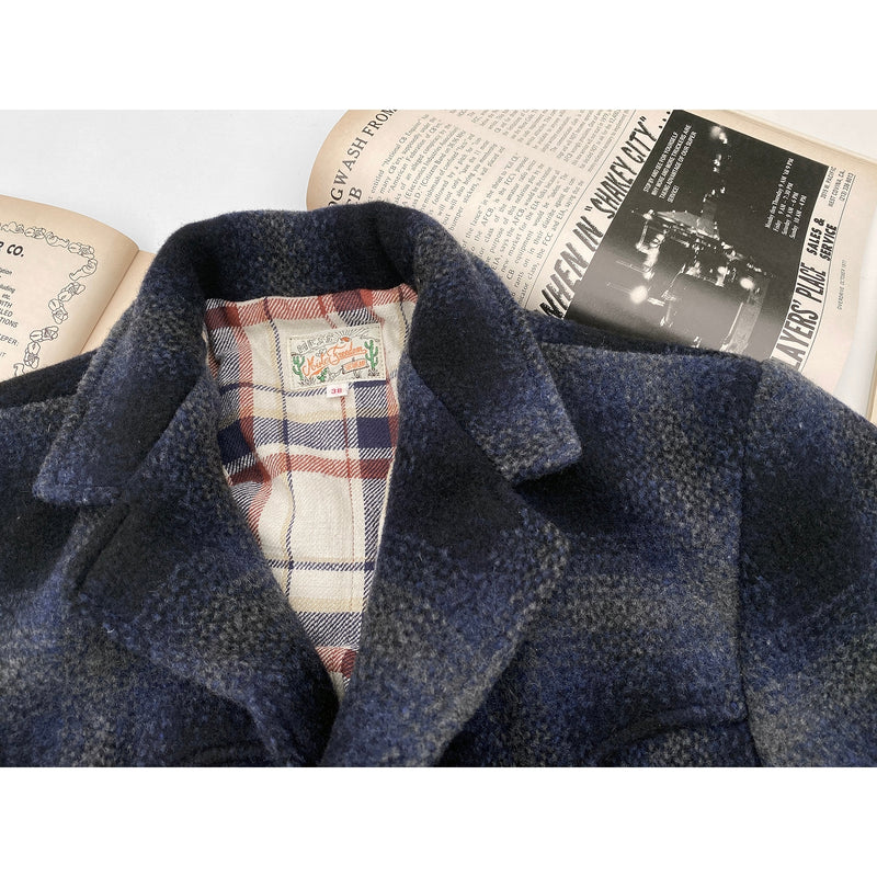 "Pioneer Jacket Shadow Plaid with Original mfsc ""Truck Stop"" woven label"