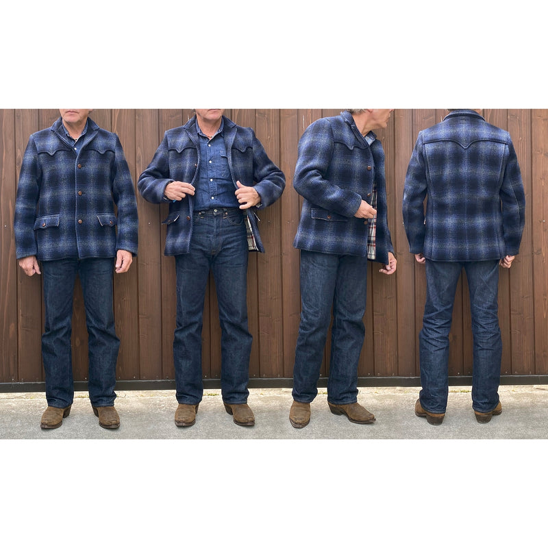 Pioneer Jacket Shadow Plaid worn by Christophe Loiron