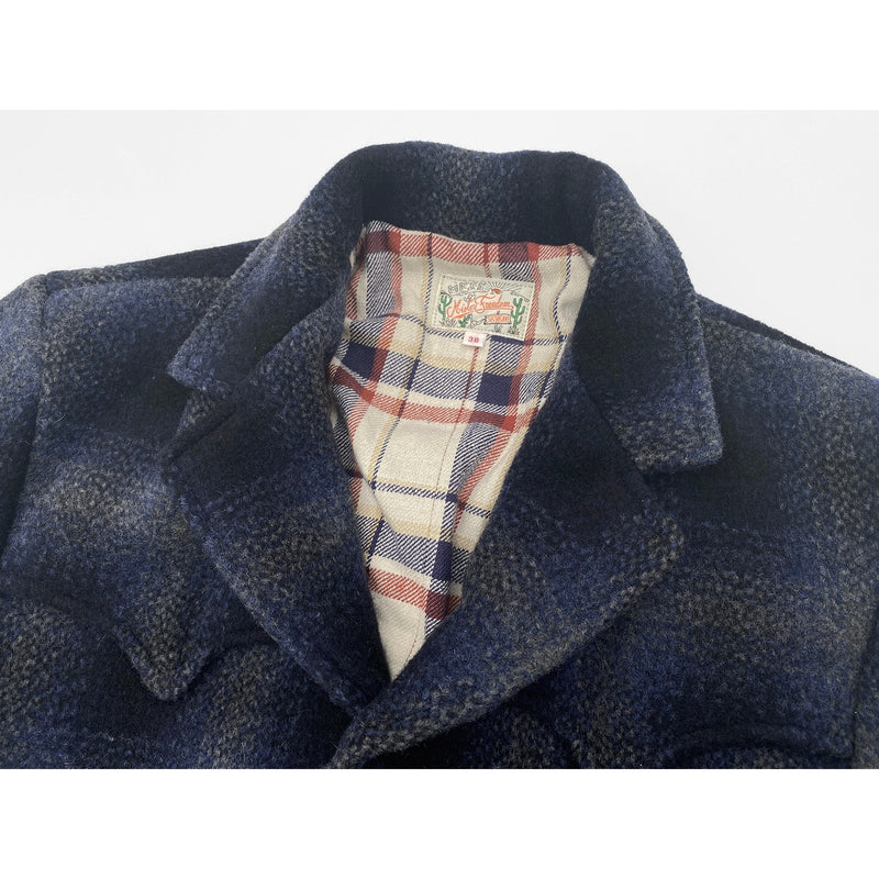 Pioneer Jacket Shadow Plaid High lapel roll