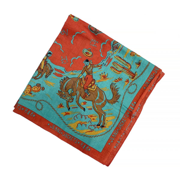 Ranch Kerchief - Turquoise