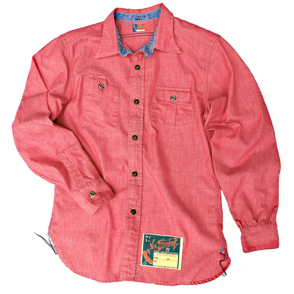 NOS Chambray Shirt Red