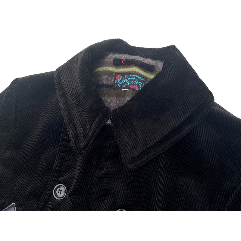 Roamer Car Coat - Heavy wide-wale corduroy