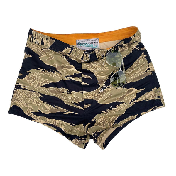 Scuba Trunks - Gold Tiger Stripe Camo