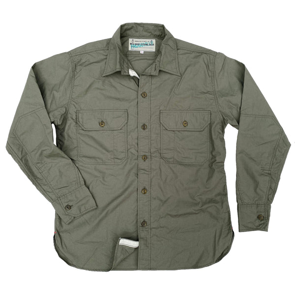Snipes Shirt - OD Cotton Poplin