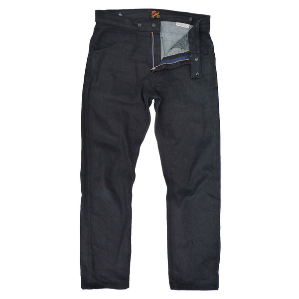 Speedways - NOS Black Coated Denim
