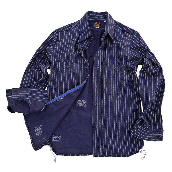 Workman Shirt - Indigo Wabash