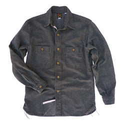 Workman Shirt - Gunpowder Tea HBT