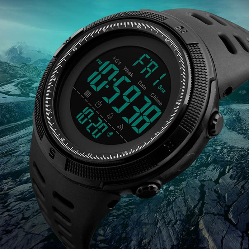 50Meter Waterproof Sports Watch For Men ⭐⭐⭐⭐⭐