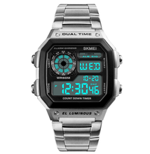 Load image into Gallery viewer, Stainless Steel Men Watch Water Resistant