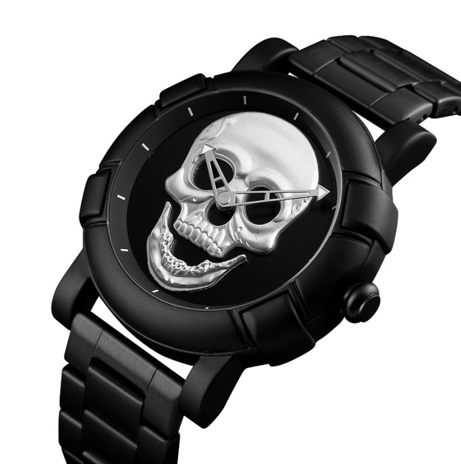 Pinas Stainless Skull Watch