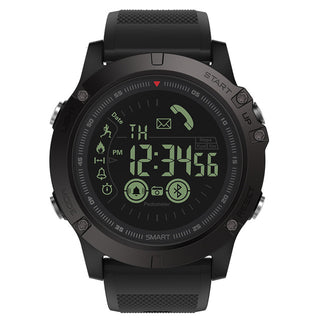 SMARTWATCH STEALTH BLACK EDITION (WATERPROOF, SHOCKPROOF, 3 YEARS WARRANTY)