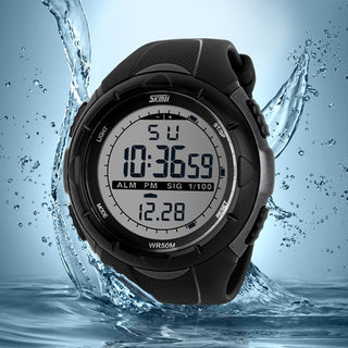 Waterproof Digital Military Watch