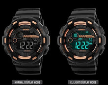 Load image into Gallery viewer, 50M Waterproof  Digital Watch Back Light LED Chronograph