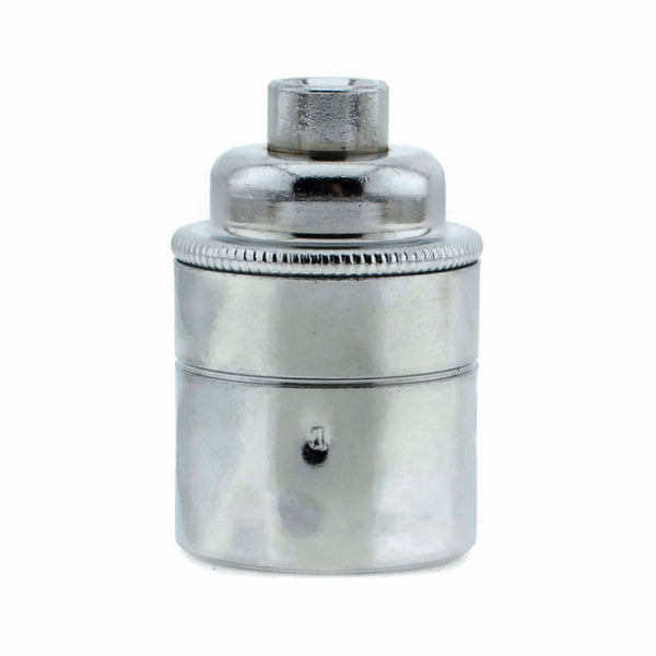 Chrome Plated 10mm Threaded Entry E27 Lamp/Light Bulb Holder