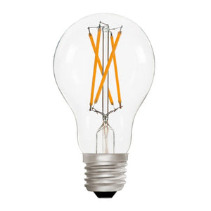 Zico LED Filament Lamp, E27, 10W, 2700K, A60 GLS, Clear, Dimmable