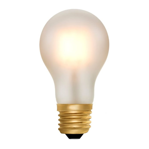 Zico LED Filament Lamp, E27, 6W, 2200K, A60 GLS, Frosted, Dimmable
