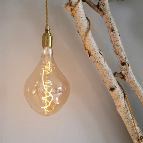 Calex LED Filament Lamp, E27, 6W, 2200K, XXL Organic Gold, Dimmable