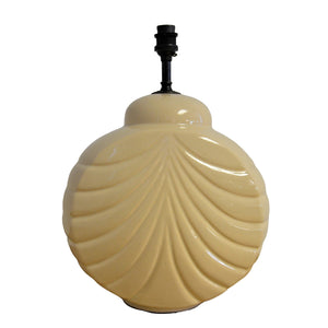 Ivory Art Deco Style Table Light