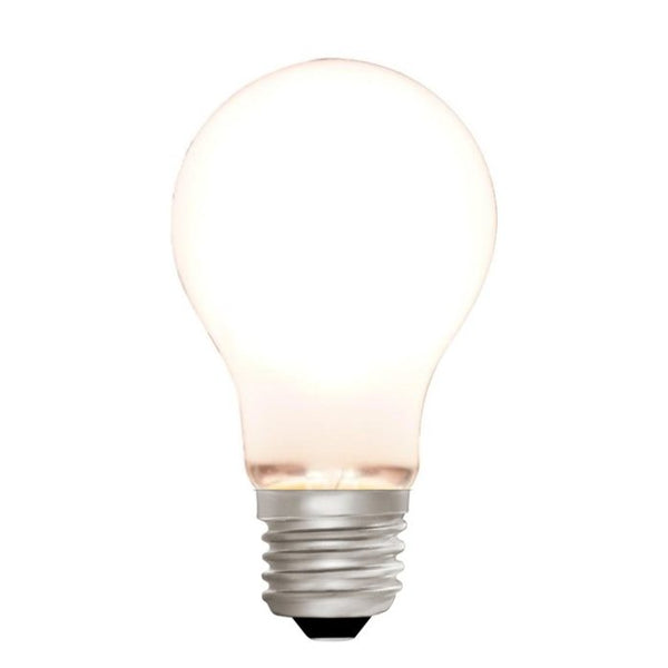 Zico LED Filament Lamp, E27, 6W, 2700K, A60 GLS, Opal, Dimmable