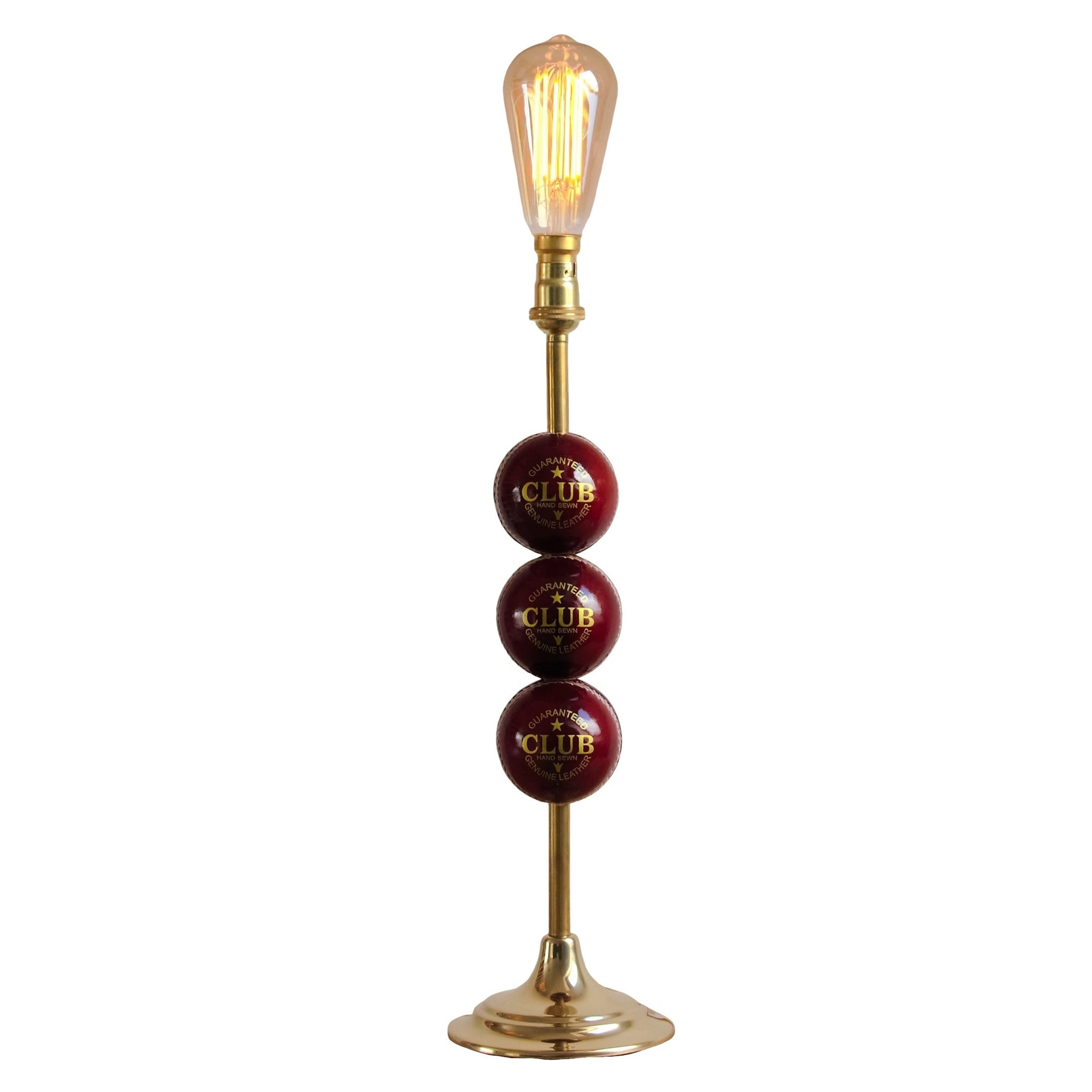 Cricket Ball Light, plus LED Filament Lamp