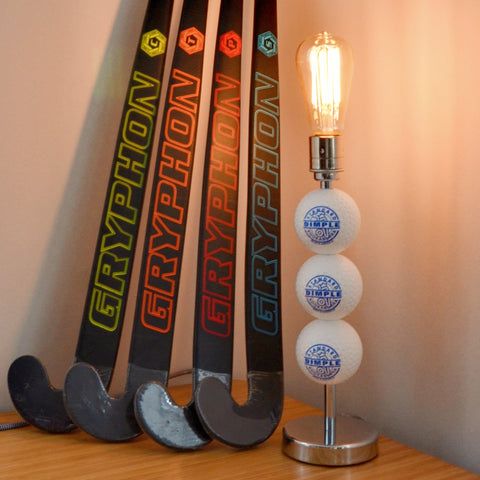 Hockey Ball Light, plus LED Filament Lamp