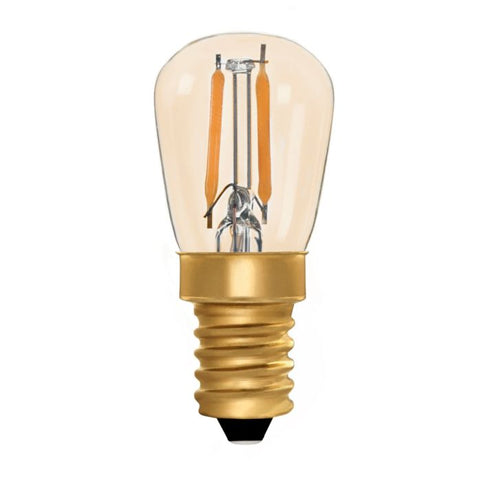 Zico LED Filament Lamp, E14, 1W, 2200K, ST26 Pygmy, Amber, Dimmable