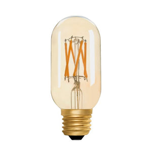 Zico LED Filament Lamp, E27, 4.5W, 2200K, T45 Radio, Amber, Dimmable
