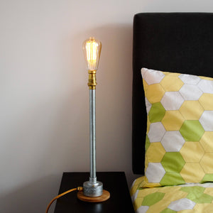 Industrial Table Lamp, plus LED Filament Lamp