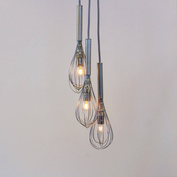 Whisks Chandelier with LED Filament Lamps