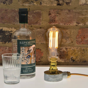 Industrial Desk Light, plus LED Filament Lamp