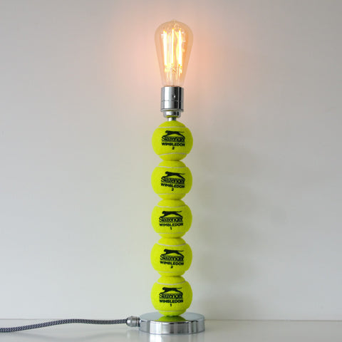 Tennis Ball Light, plus LED Filament Lamp