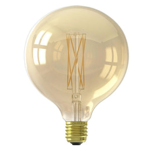 Calex LED Filament Globe Lamp, E27, Globe, Dimmable