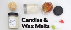 Unique Handmade Soy And Wax Candles And Melts