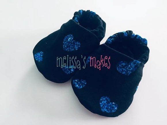 Blue Hearts Shoes