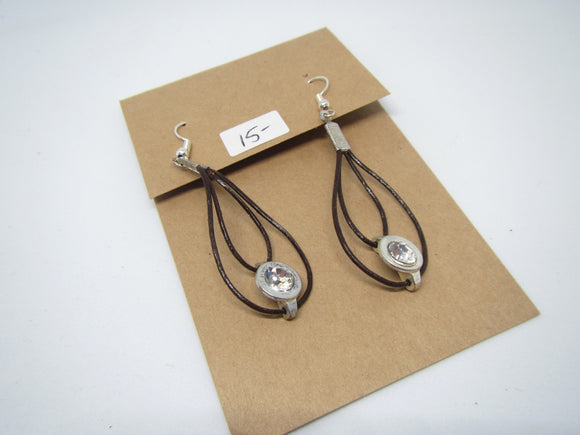 Leather Loops Earrings