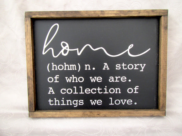 Home - A Story