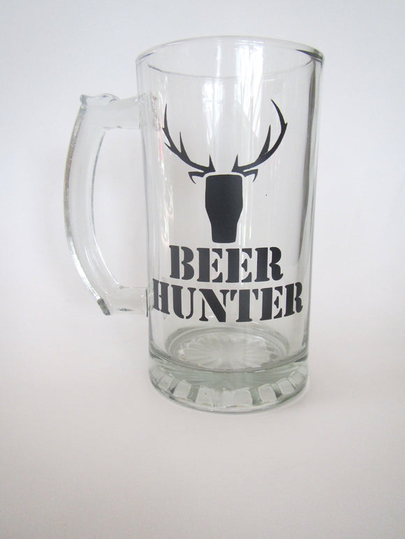 Beer Hunter Glass